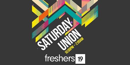 Freshers Saturday Union