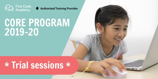 First Code Academy Fall Term 2019 Trial Sessions (17 & 24  Aug 2019)