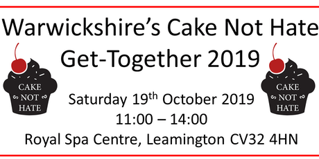 Warwickshire's Cake Not Hate Get-Together 2019 tickets