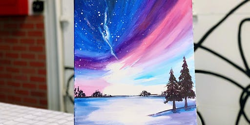 THINGS TO DO -PAINT N' SIP: AURORA