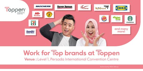 Toppen Shopping Centre Recruitment Fair tickets
