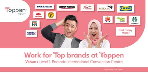 Toppen Shopping Centre Recruitment Fair