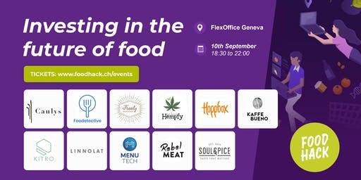 Food Startups x Investors: Investing in the Future of Food