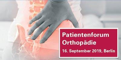 Patientenforum Orthopädie