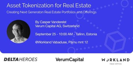 Asset Tokenisation for Real Estate  tickets