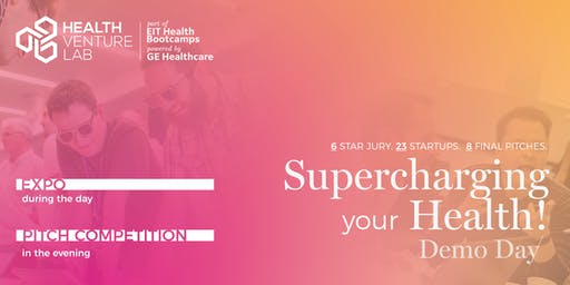 Supercharging your Health ⚡ - Demo Day @Health Venture Lab