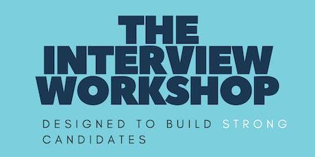 The Interview Workshop tickets