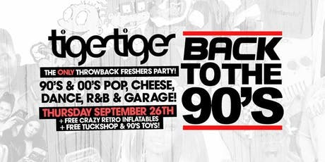 Back To The 90s - London's Biggest Throwback Party! tickets