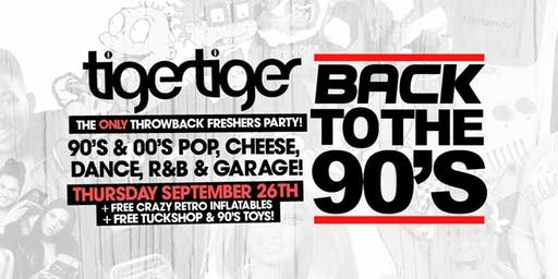Back To The 90s - London's Biggest Throwback Party!