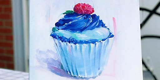 THINGS TO DO -PAINT & SIP: CUPCAKE