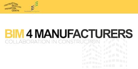 BIM in Practice - Manufacturers tickets