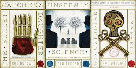 An Evening with Rod Duncan, Steampunk Author tickets