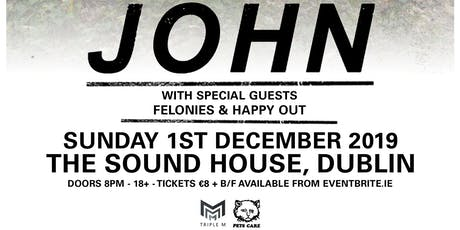 JOHN // Dublin tickets