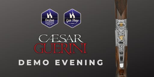 Caesar Guerini Demo Evening at Orston Shooting Ground