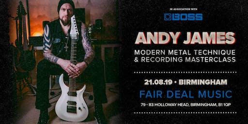 Andy James Masterclass FairDeal Music Birmingham