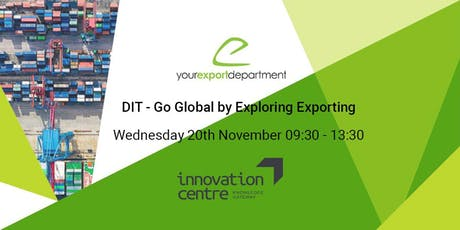 Go Global by Exploring Exporting tickets