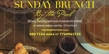Sunday Brunch by the Pool tickets