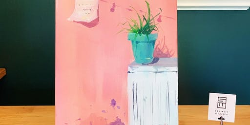 THINGS TO DO -PAINT & SIP: POTTED PLANTS
