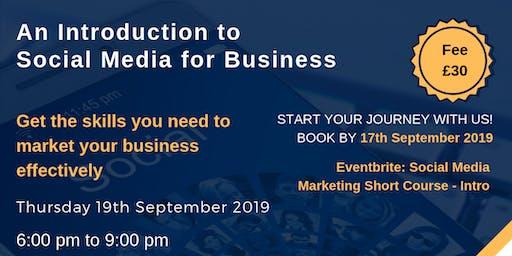 Social Media Marketing Short Course - Intro