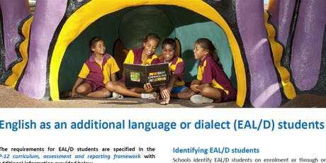 Darling Downs South West-Using Bandscales to support diverse EAL/D learners tickets