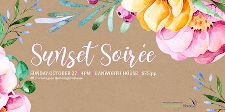 Sunset Soiree supporting Hummingbird House tickets