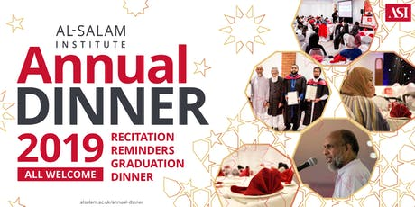 ASI Annual Dinner 2019 tickets