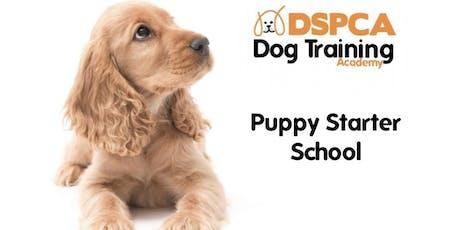 Puppy Starter School, Monday, DSPCA Indoor tickets