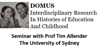 DOMUS Seminar - Post/colonial vistas of religiosity in India: Loreto's Modernity Turn, 1904-2010