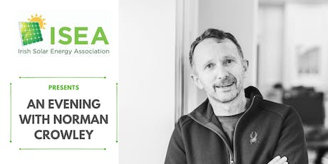 ISEA Presents An Evening with Norman Crowley tickets