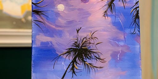 THINGS TO DO -PAINT & SIP: COCONUT TREE
