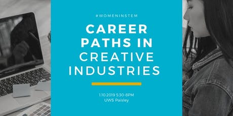 Career Paths in Creative Industries tickets