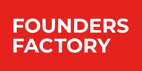 Founders Factory - das kostenlose Startup Bootcamp Tickets