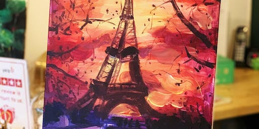 THINGS TO DO -PAINT & SIP: EIFFEL TOWER