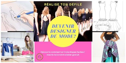 Webinaire sur le métier de Designer de mode