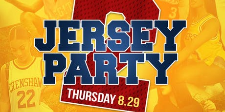 JERSEY PARTY PT. 2  w/ TREV RICH tickets