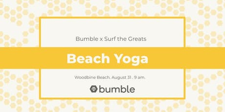 Bumble x Surf the Greats: Beach Yoga tickets