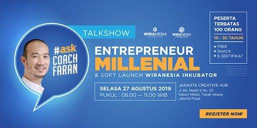 Talkshow Entrepreneur Millenial