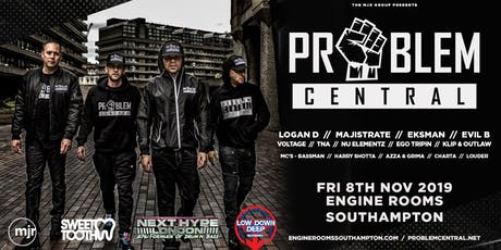 Problem Central (Engine Rooms, Southampton) tickets