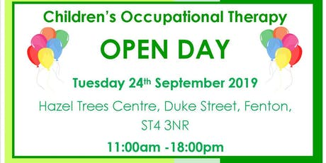 Children's Occupational Therapy Service Re-design Drop in Event tickets