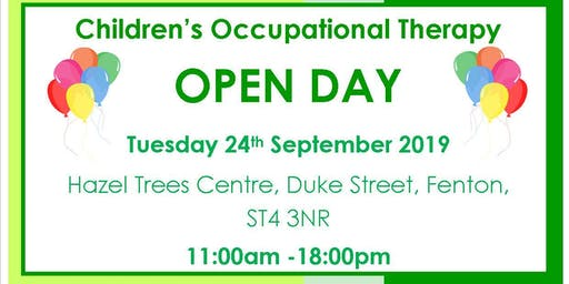 Children's Occupational Therapy Service Re-design Drop in Event