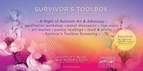 Survivor's Toolbox :: Launch Party and Fundraiser tickets