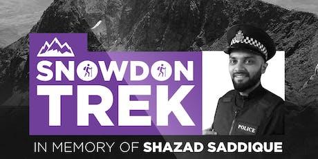 Snowdon Climb in Memory of Br Shazad Saddique tickets