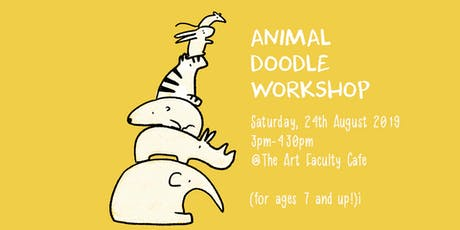 Animal Doodles for Kids and Adults  tickets