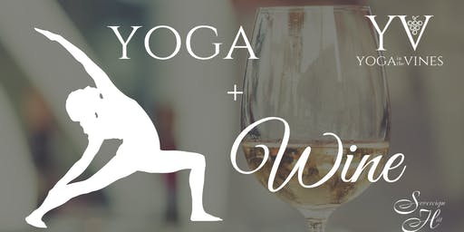 Yoga + Wine at Sovereign Hill