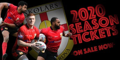 SKOLARS 2020  SEASON TICKETS & MEMBERSHIPS