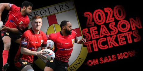 SKOLARS 2020  SEASON TICKETS & MEMBERSHIPS tickets
