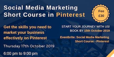 Social Media Marketing Short Course - Pinterest tickets