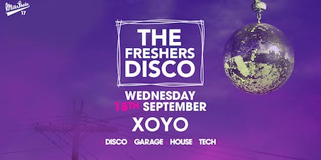 The Freshers Disco tickets