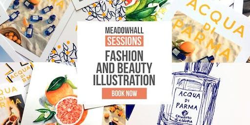 Fashion and Beauty Illustration with Acqua di Parma