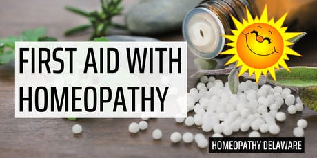 First Aid with Homeopathy tickets